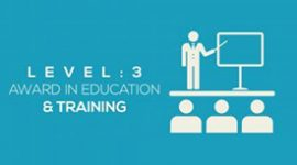 The Level 3 Award in Education and Training